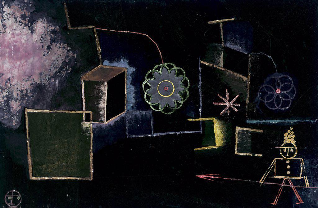 Stock Photo: 866-5458 Mordbrenner Paul Klee (1879-1940 Swiss) Wat gou pen on paper