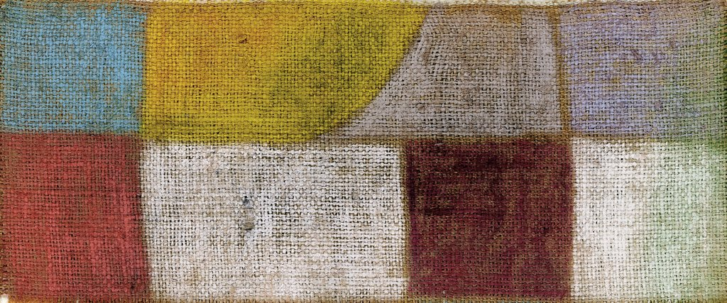 Drinnen Und Draussen Paul Klee (1879-1940 Swiss) Gouache and pastel : Stock Photo