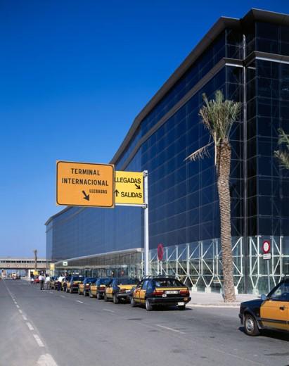 Barcelona International Airport Barcelona Spain : Stock Photo