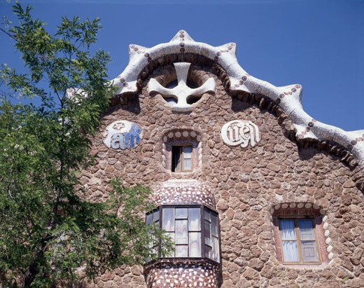 Guell Park Barcelona Spain : Stock Photo