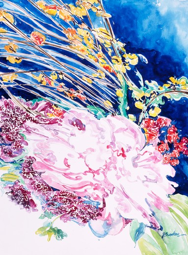 Stock Photo: 875-3118 Mixed Bouquet