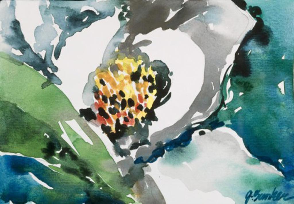 Dream Magnolia, John Bunker (20th C. American), Watercolor on paper, Private Collection : Stock Photo