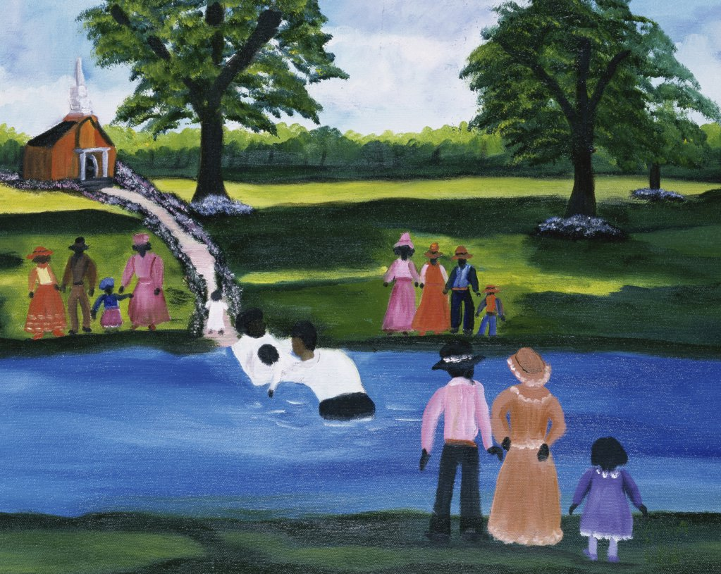 Stock Photo: 879-5056 Baptism 3