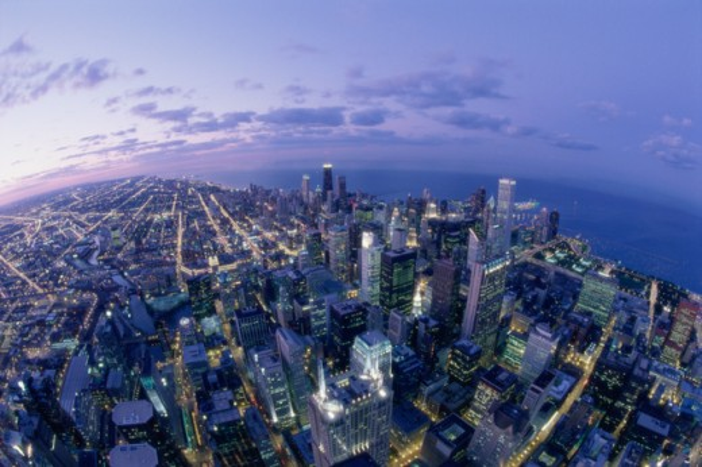 Chicago Illinois USA : Stock Photo