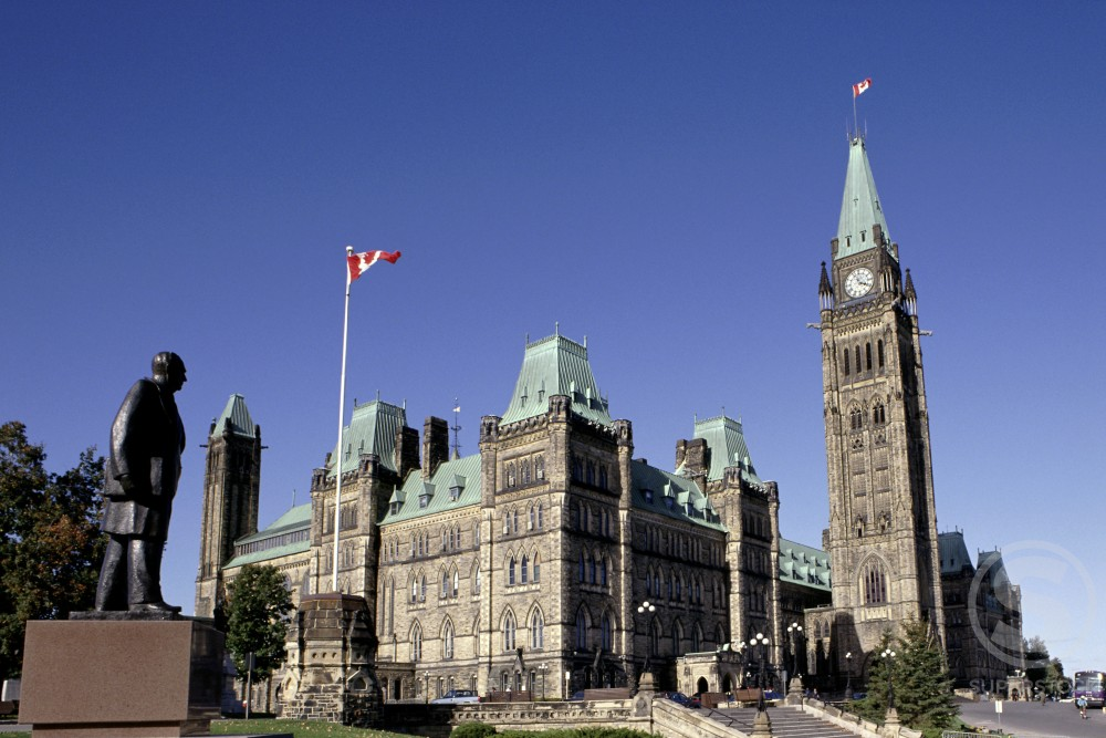Stock Photo: 892-263 The Peace Tower 