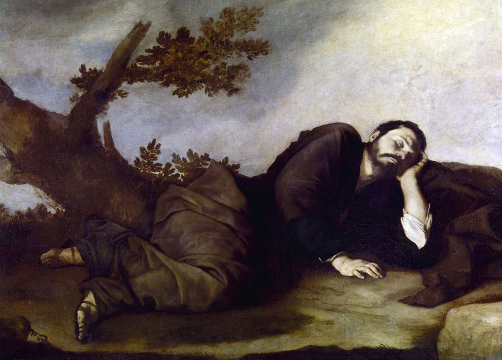 Stock Photo: 900-100172 Jacob's Dream by Jusepe De Ribera, (Ca.1590-1656)