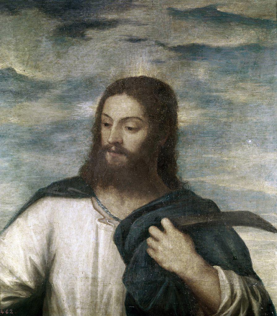 Stock Photo: 900-100196 Our Saviour Titian (ca.1485-1576 Italian)
