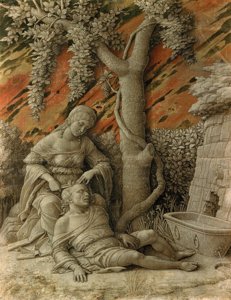 Stock Photo: 900-100326 Samson and Delilah