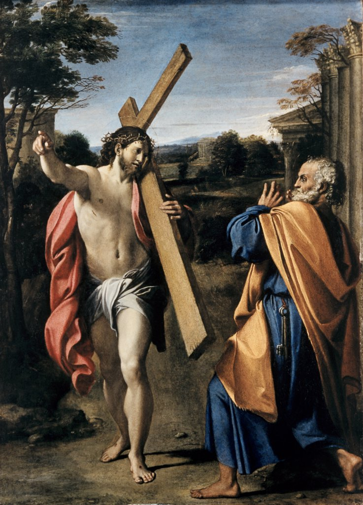 Stock Photo: 900-100361 Christ Appearing to Saint Peter