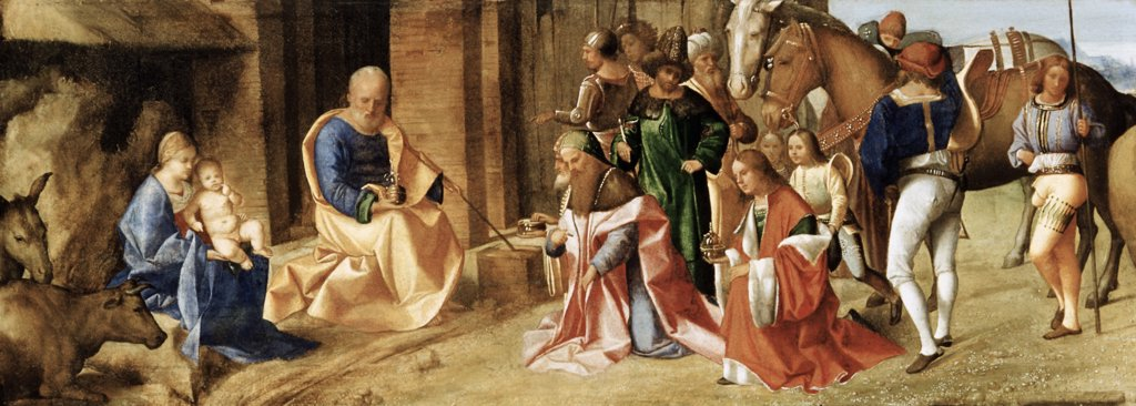 Stock Photo: 900-100364 The Adoration Of The Magi