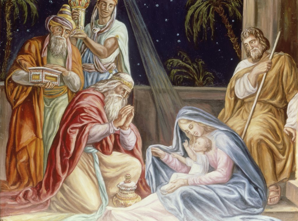 Stock Photo: 900-100537 Adoration of the Wise Men