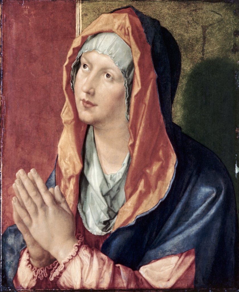 Stock Photo: 900-100660 The Virgin Praying