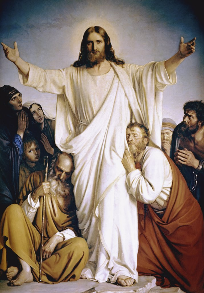 Stock Photo: 900-100858 Christ the Consoler 