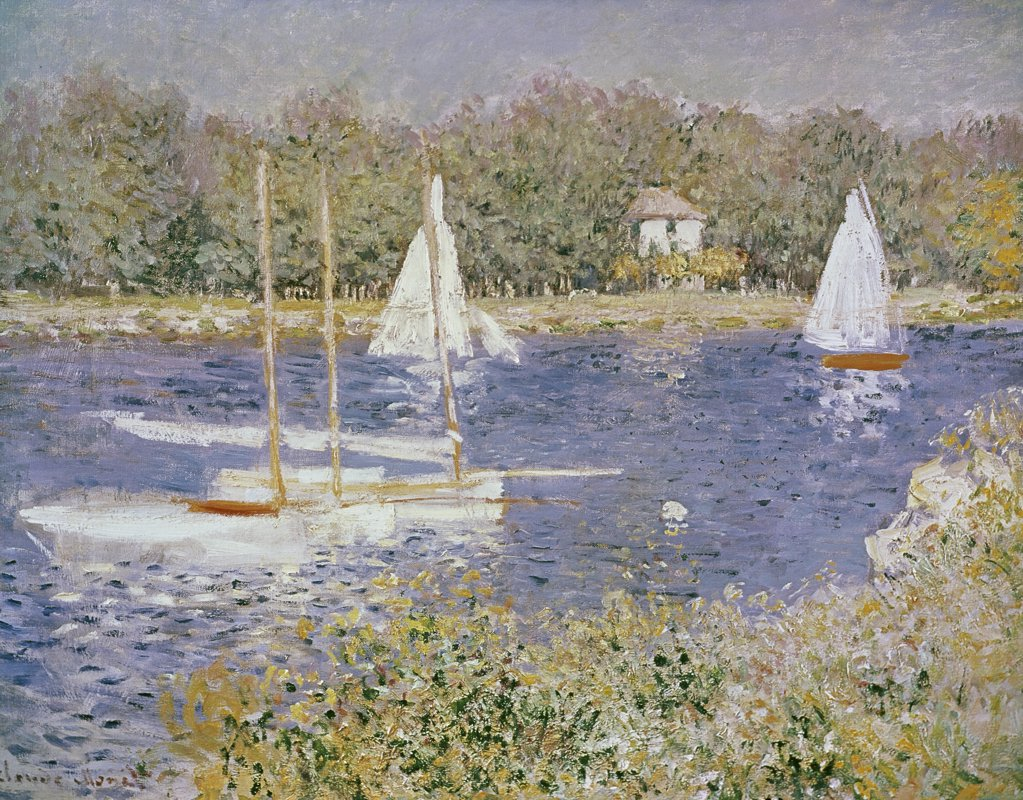 Stock Photo: 900-100927 Basin D'Argenteuil
