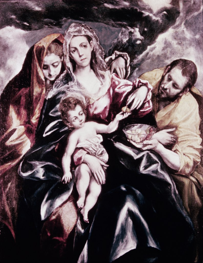 Stock Photo: 900-100962 Holy Family With Mary Magdalene, The 