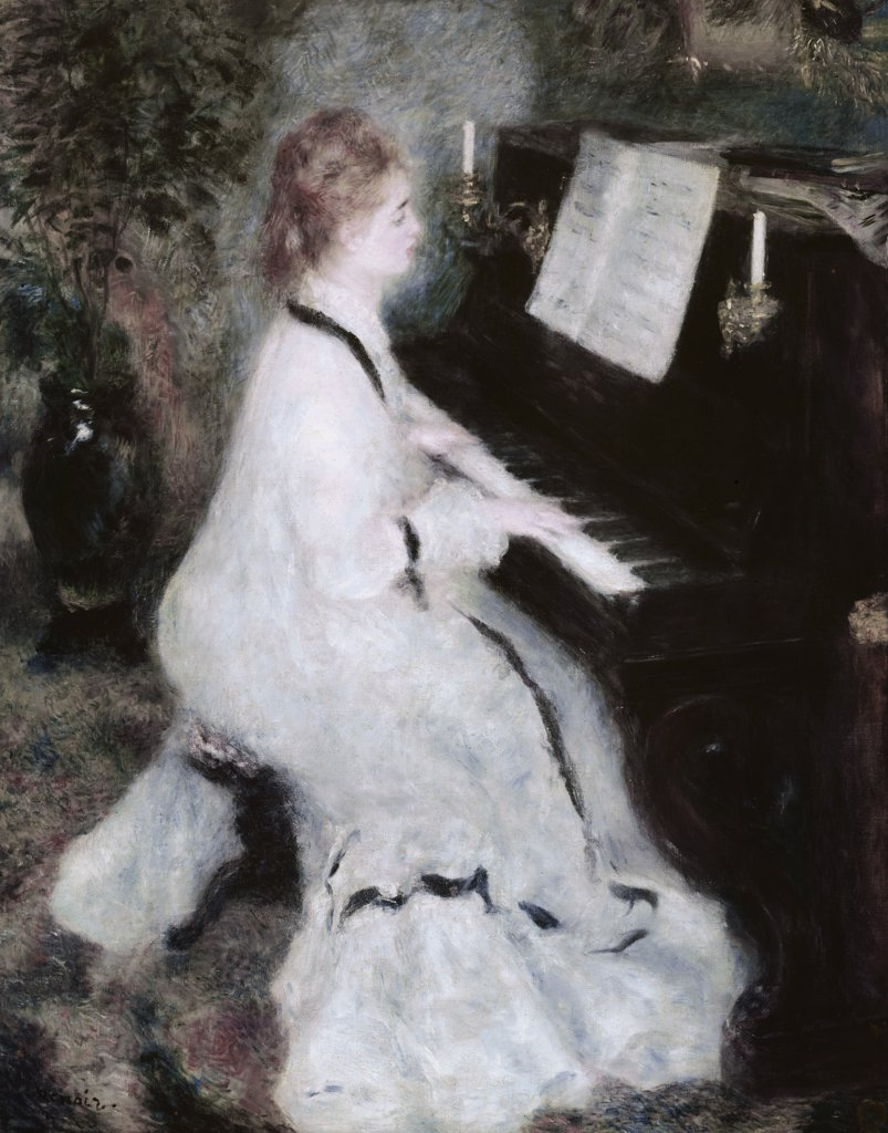 Stock Photo: 900-100985 At the Piano