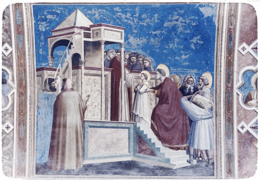 Stock Photo: 900-101264 Presentation of Mary in the Temple 