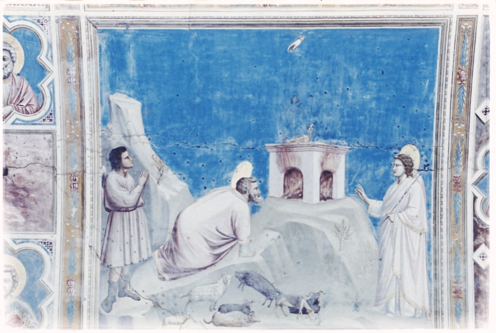 Stock Photo: 900-101266 Sacrifice of Joachim 