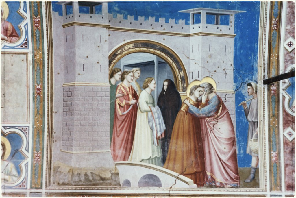 Stock Photo: 900-101267 The Meeting Of Anna & Joachim 