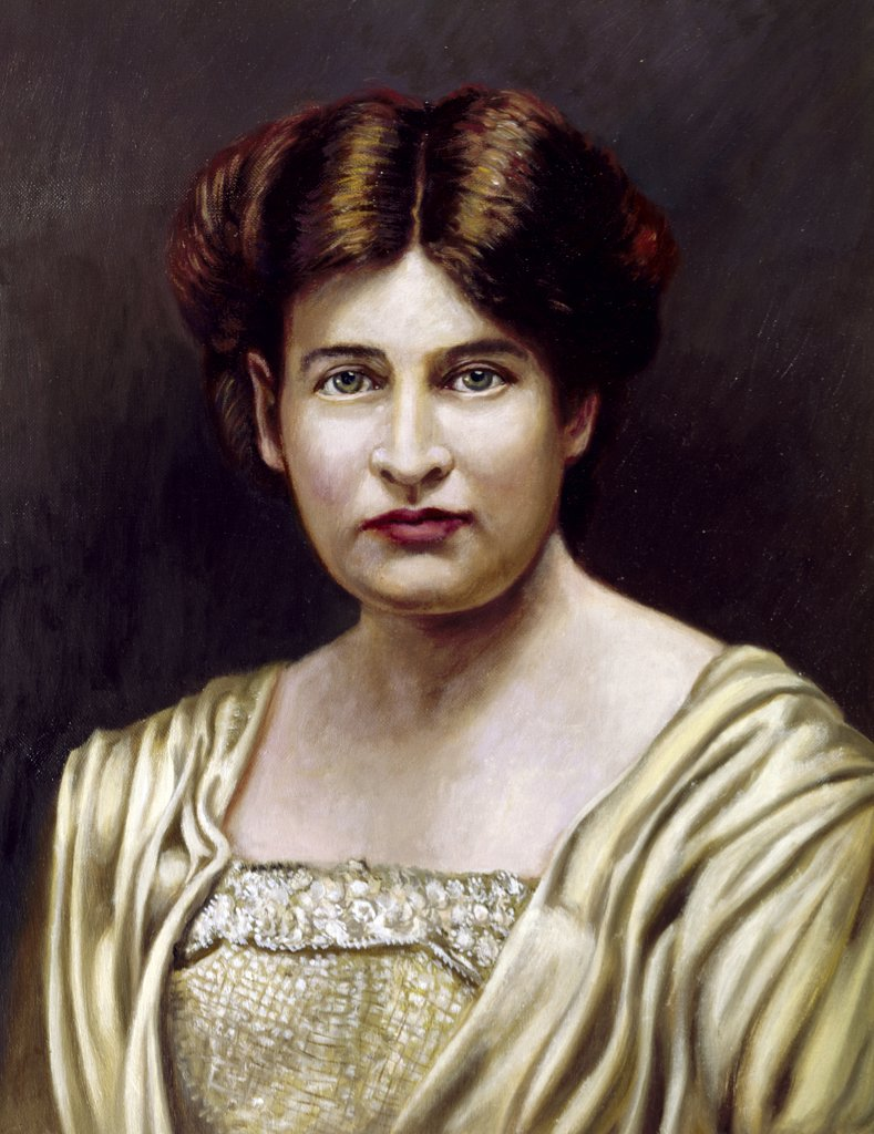 Stock Photo: 900-102161 Willa Sibert Cather Vittorio Bianchini 1797-1880, - Italian)