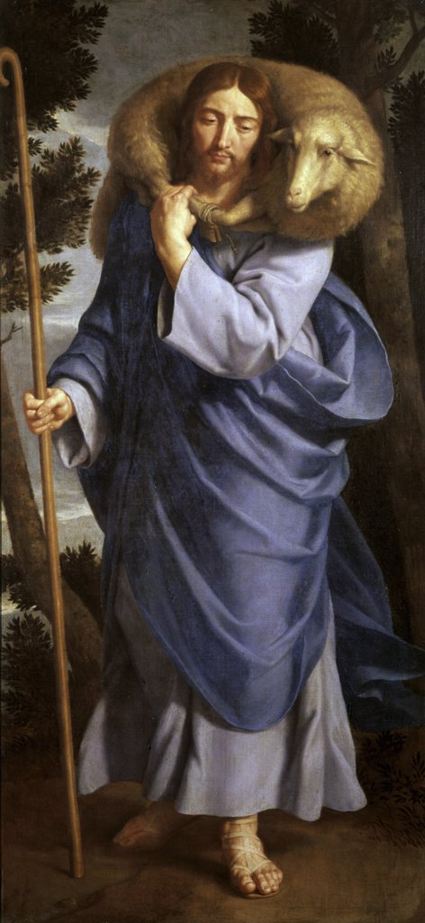 Stock Photo: 900-102168 The Good Shepherd
