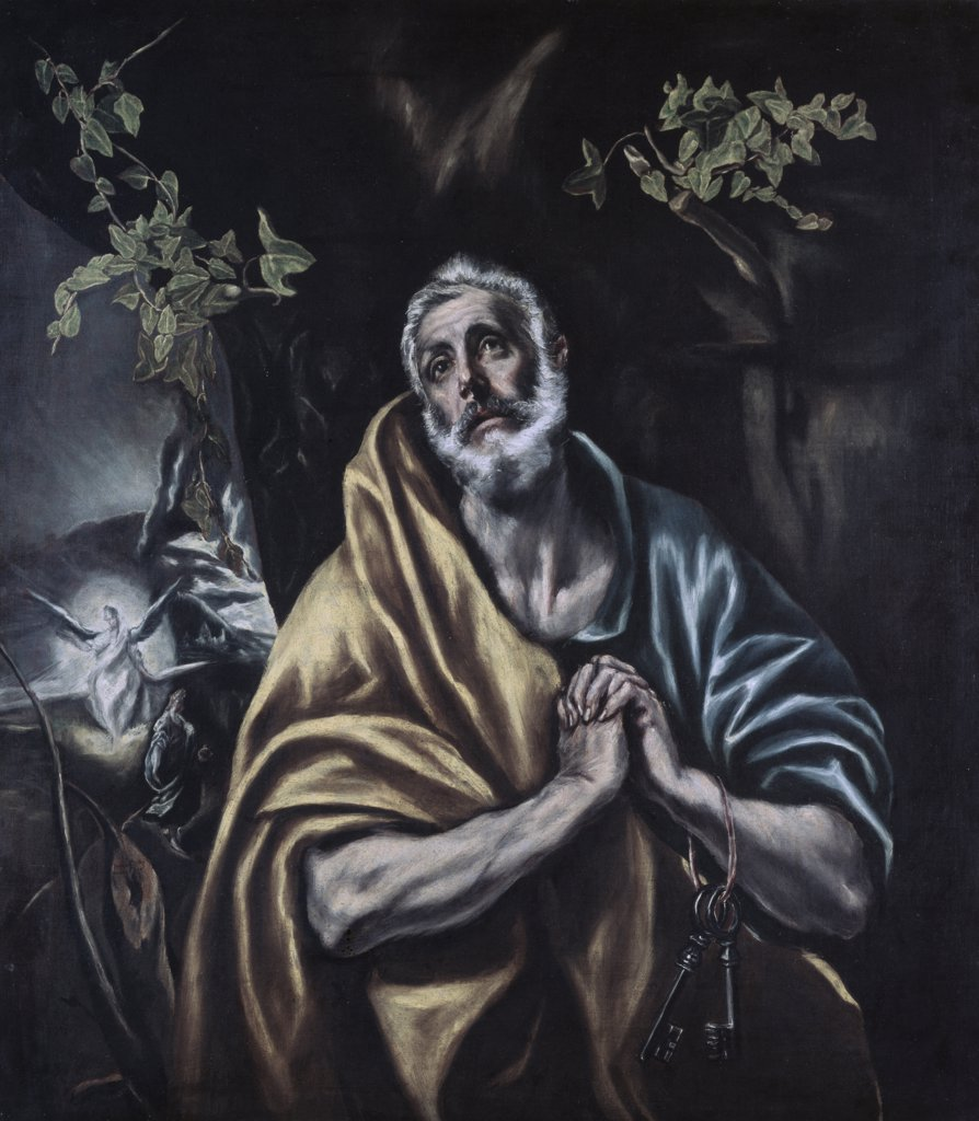 Stock Photo: 900-102221 Penitent Peter