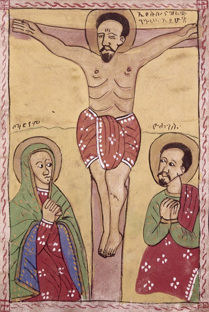Stock Photo: 900-102690 The Crucifixion
