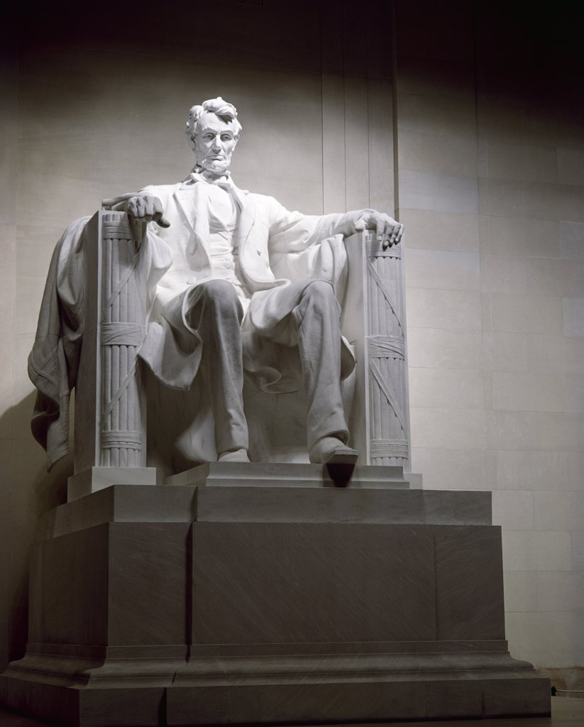 Stock Photo: 900-102722 Lincoln Memorial , American History