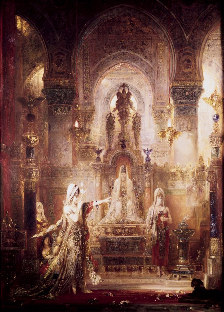 Stock Photo: 900-103482 Salome Dancing Before Herod