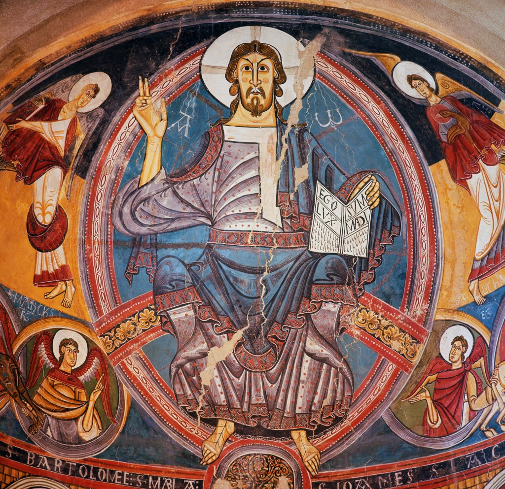 Stock Photo: 900-104368 Christ in Majesty 