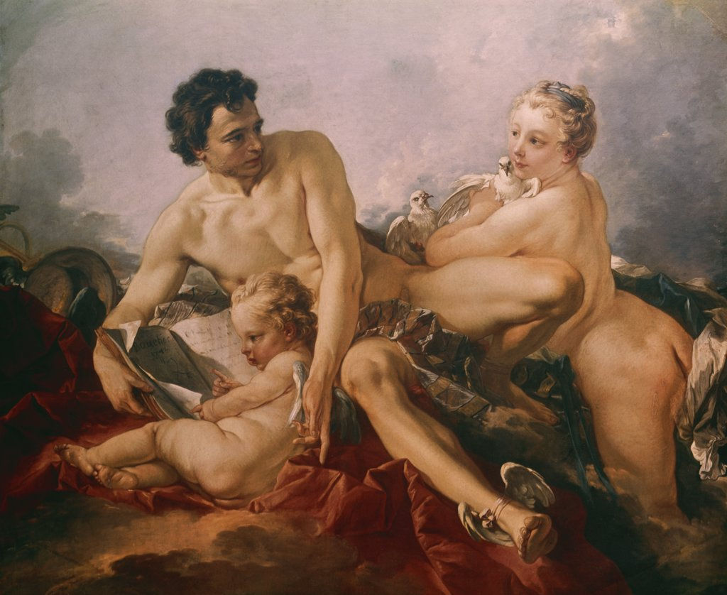 Venus, Mercury and Amor