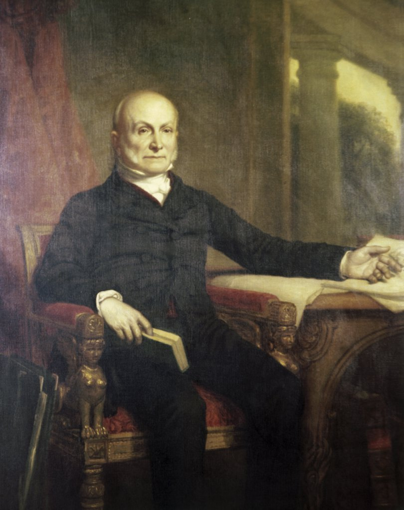 Stock Photo: 900-105511 John Quincy Adams (President 1825-1829)