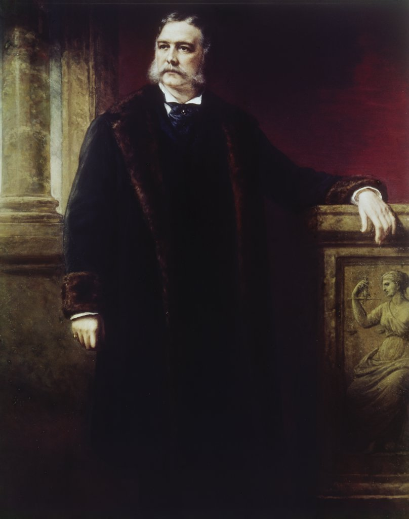 Stock Photo: 900-105523 Chester A. Arthur (President 1881-1885)