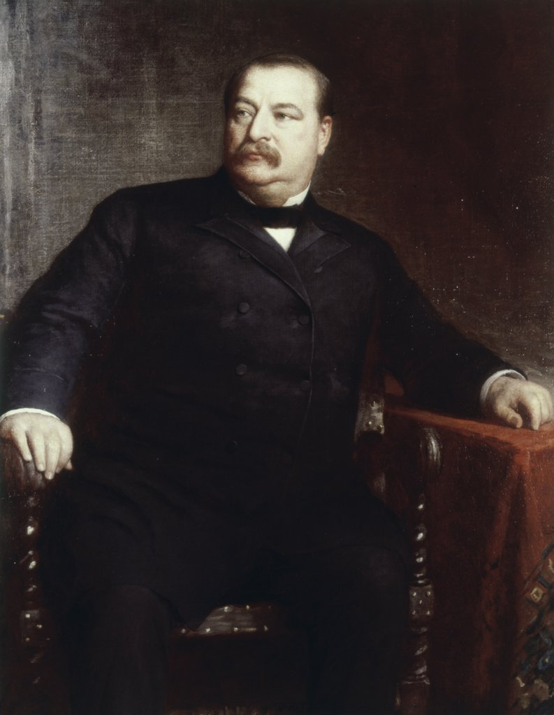 Stock Photo: 900-105524 Grover Cleveland (Pres 1885-1889)