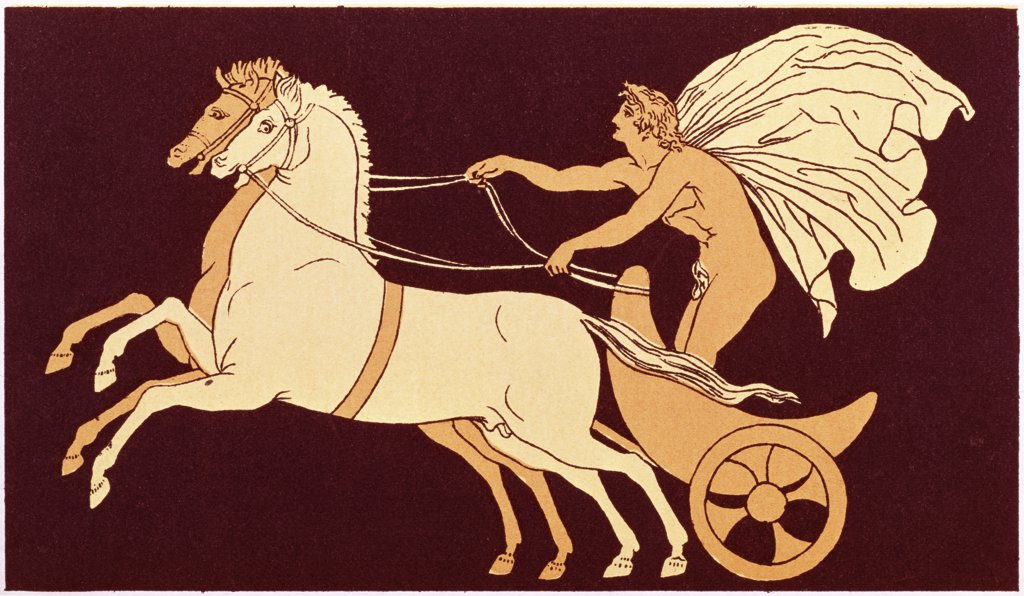 Stock Photo: 900-106879 Chariot Race  