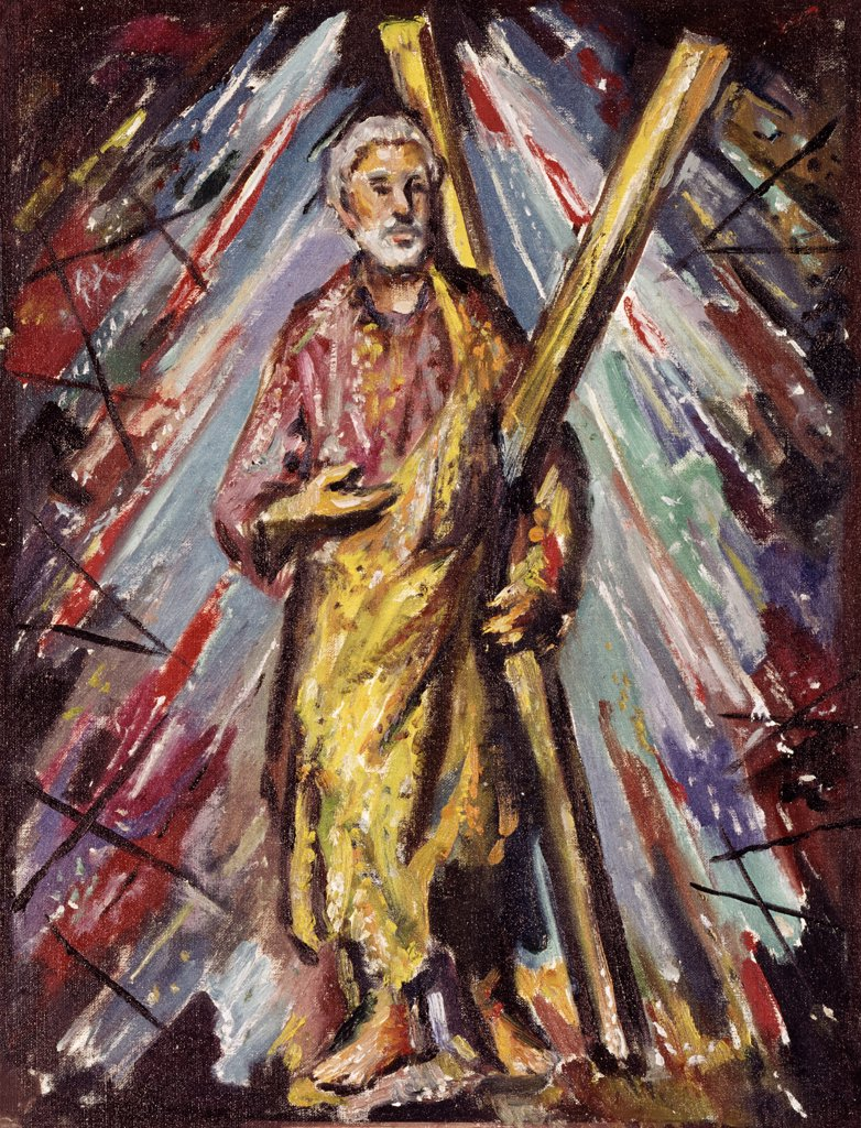Stock Photo: 900-106993 Saint Andrew by Vladimir Mazuranic, b.1910