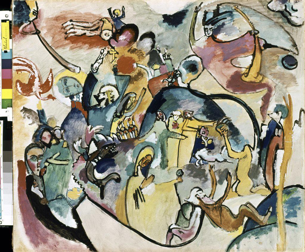 All Saints by Vasily Kandinsky, 1866-1944 : Stock Photo