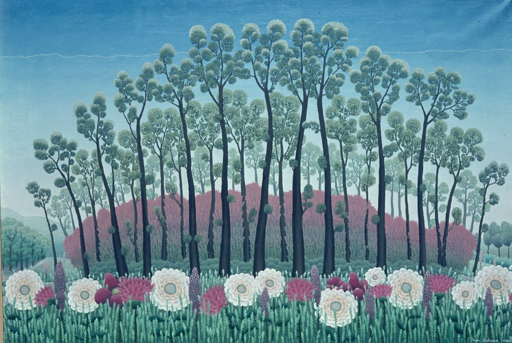 Stock Photo: 900-107452 Flowers and Trees of World by Ivan Rabuzin,  painting