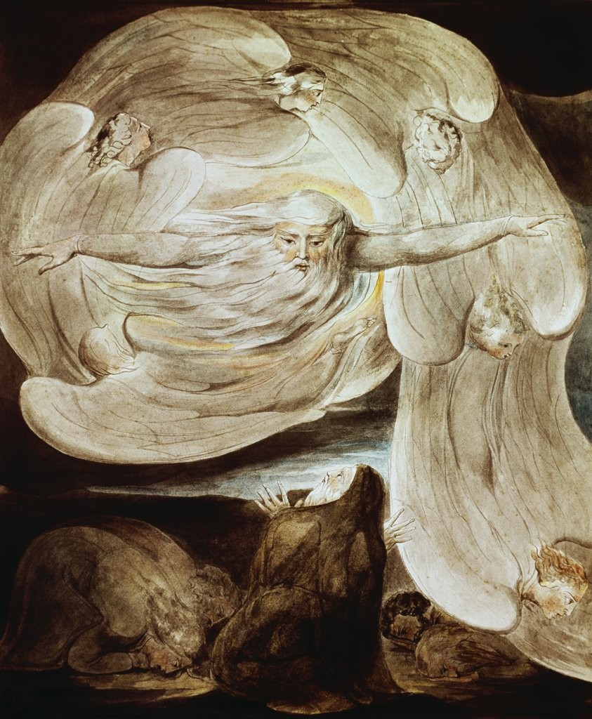 Stock Photo: 900-107488 Job and the Whirlwind