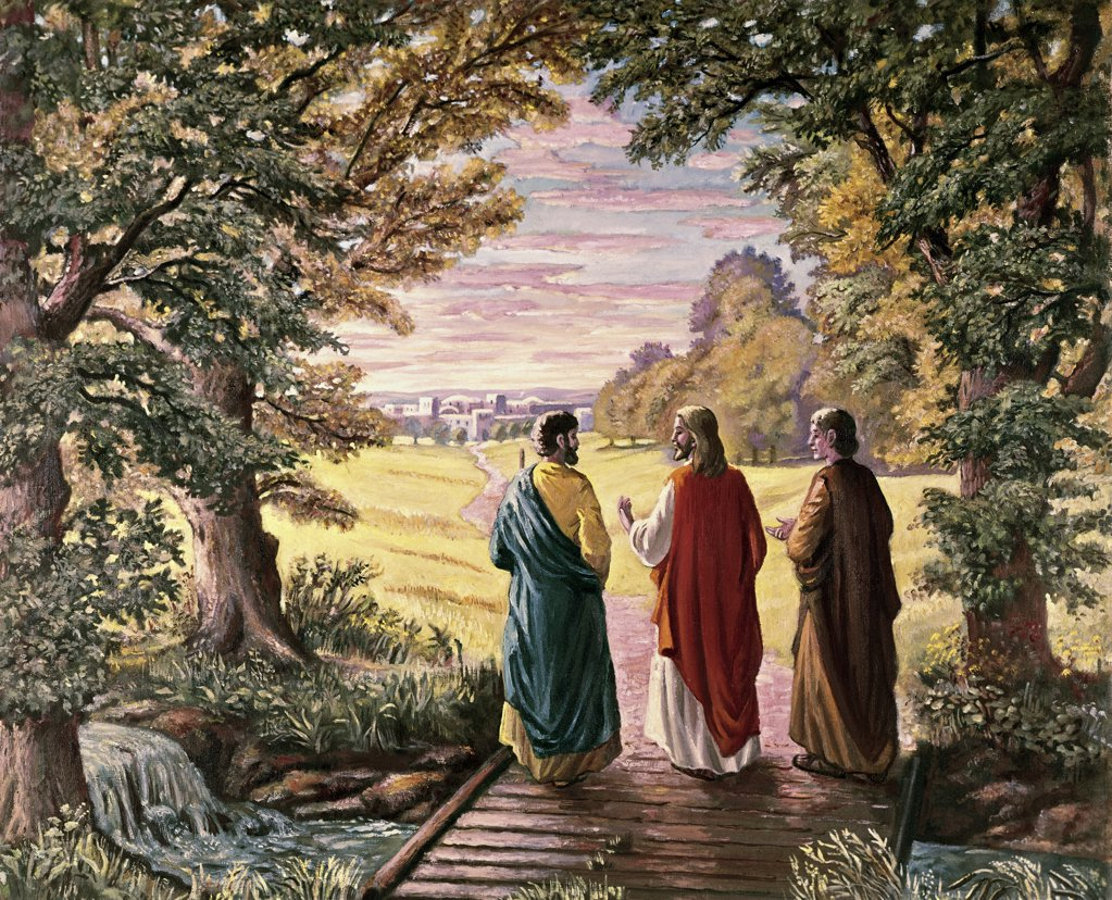 Stock Photo: 900-108059 On the Way to Emmaus