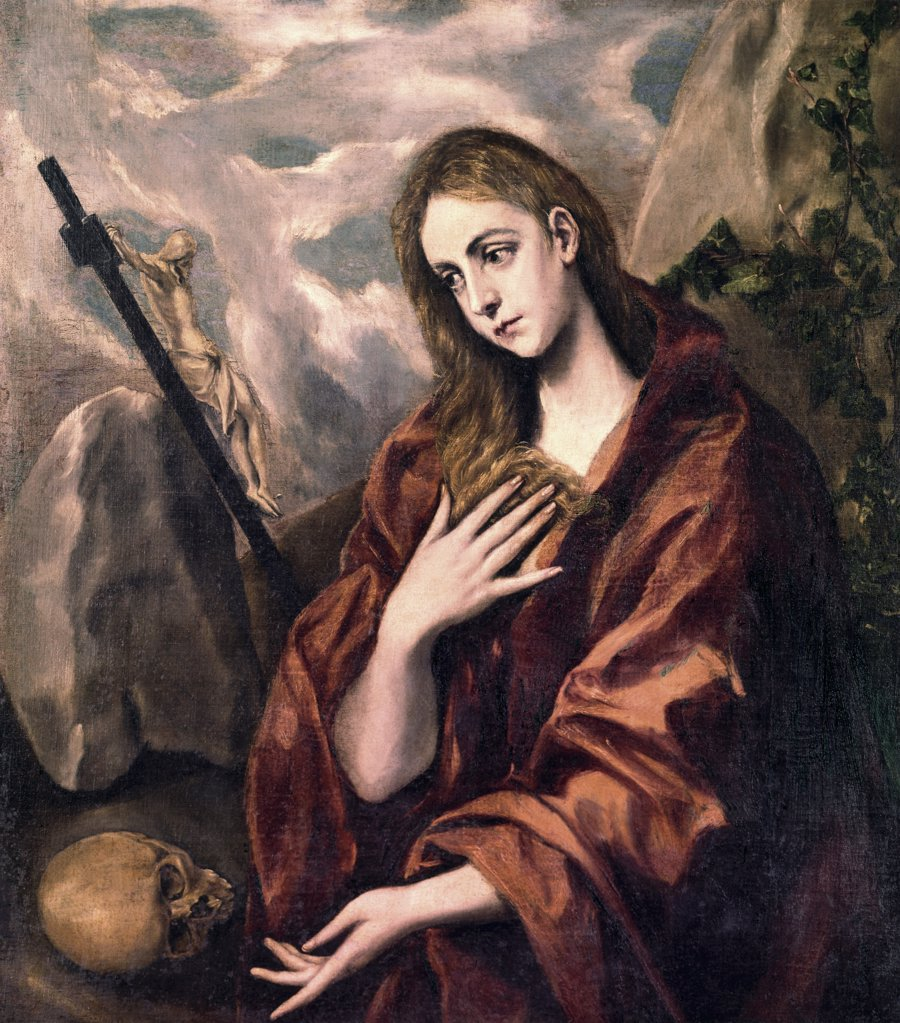 Stock Photo: 900-108265 Saint Mary Magdalene