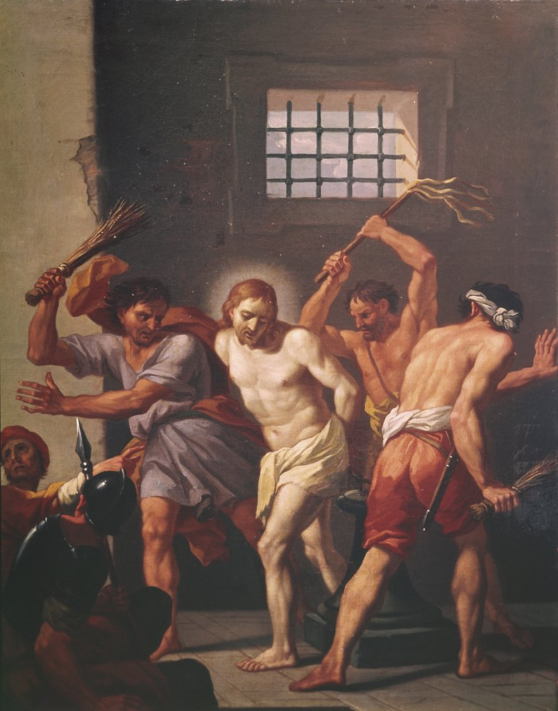Stock Photo: 900-108333 The Scourging of Christ
