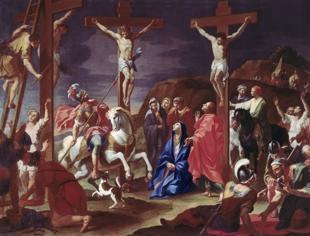 Stock Photo: 900-108484 The Crucifixion