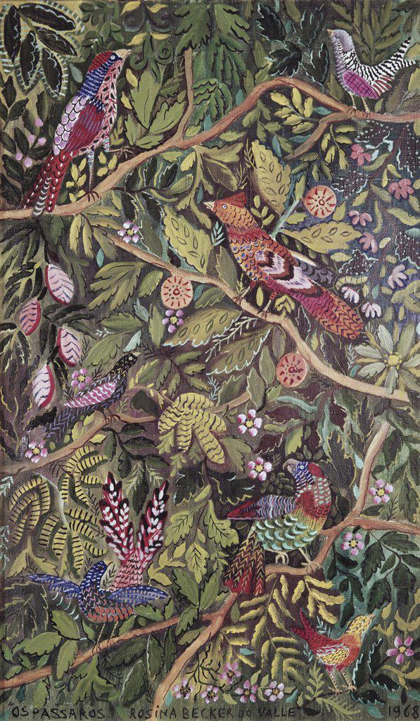 Stock Photo: 900-108684 Birds by Rosina Becker de Valle, 20th Century