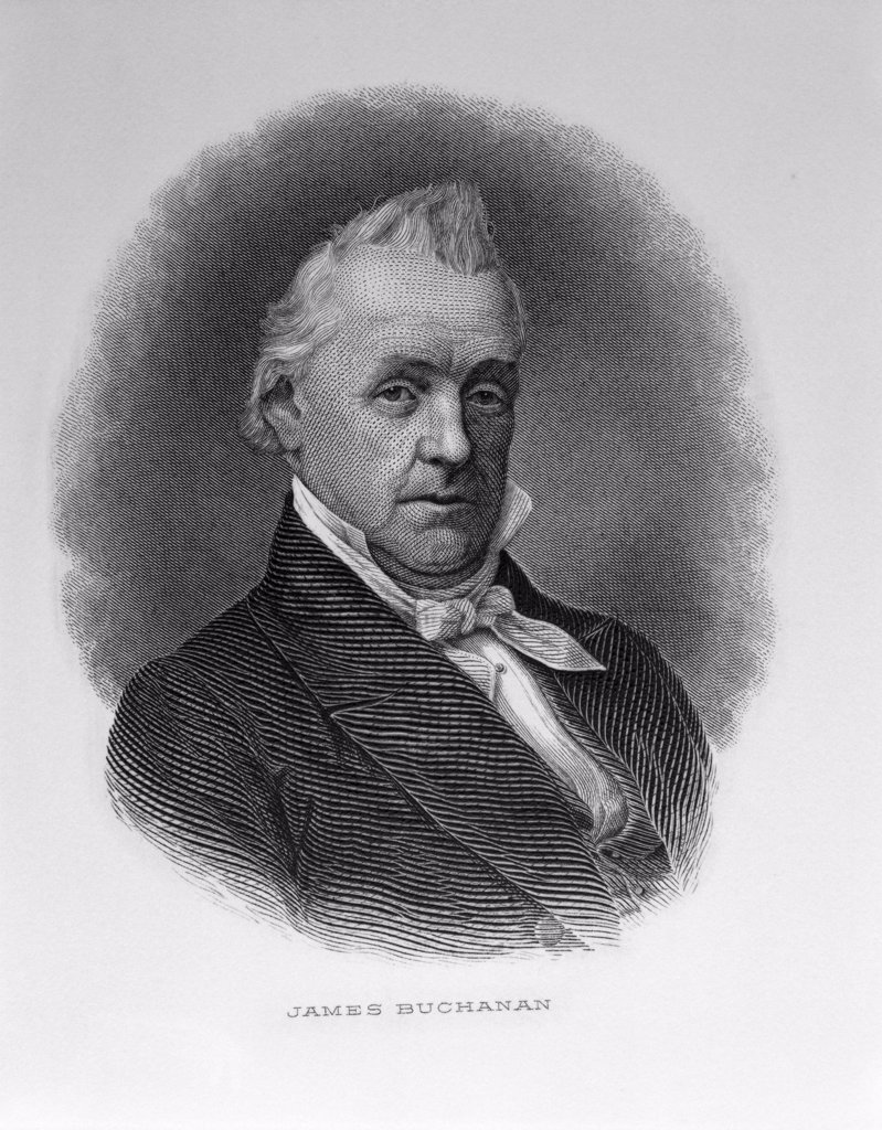 Stock Photo: 900-1100 James Buchanan
