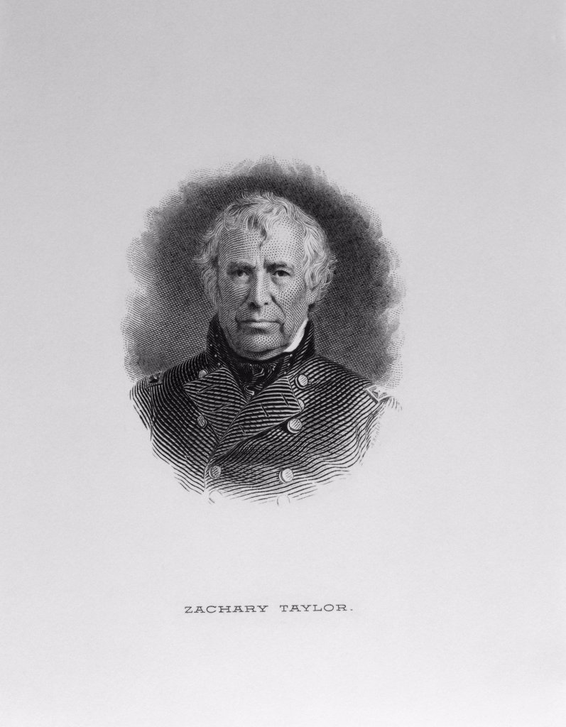 Stock Photo: 900-1103 Zachary Taylor