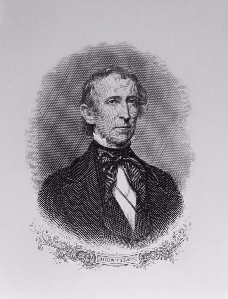Stock Photo: 900-1106 John Tyler