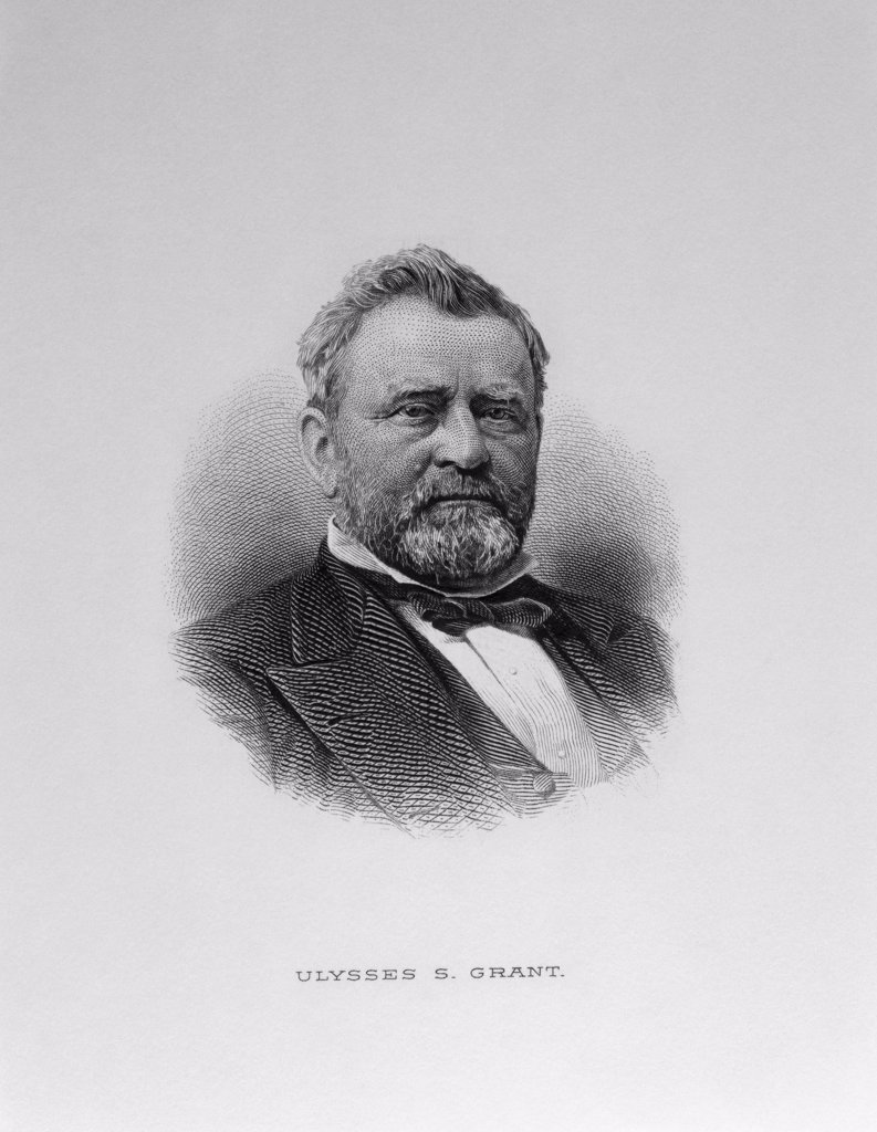 Stock Photo: 900-1107 Ulysses S. Grant