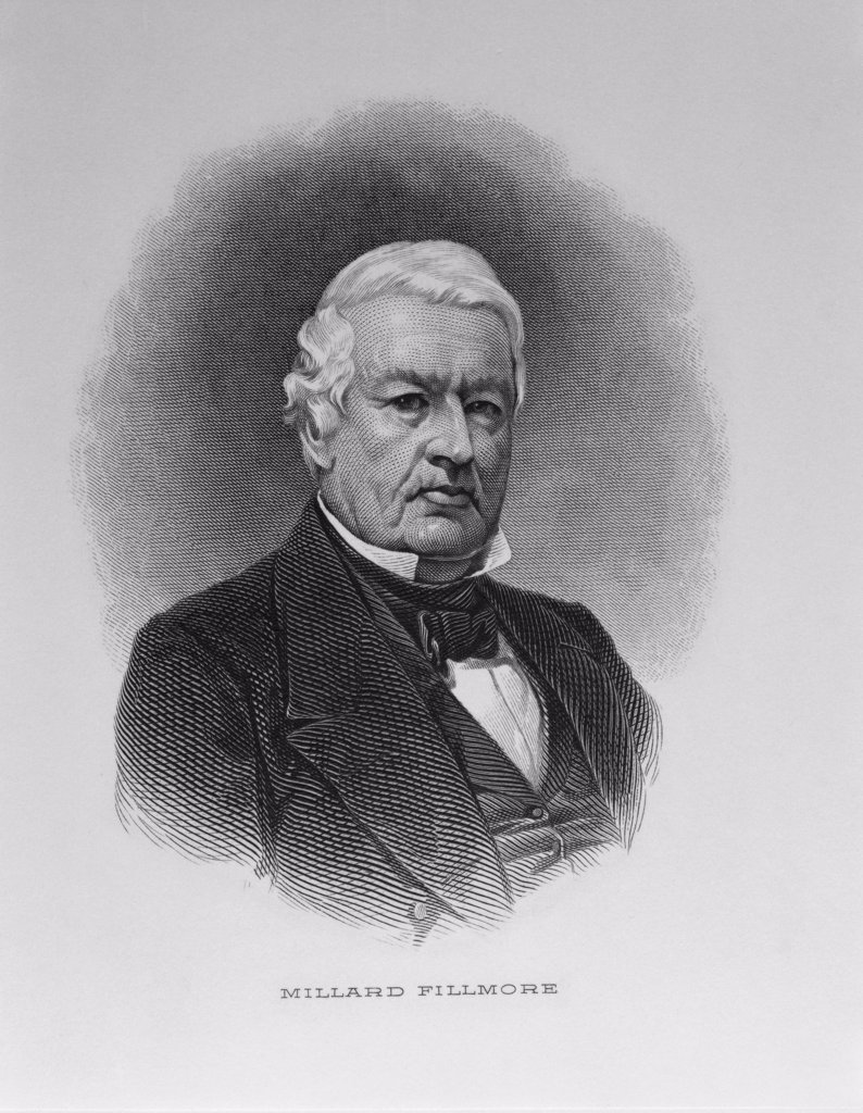 Stock Photo: 900-1108 Millard Fillmore