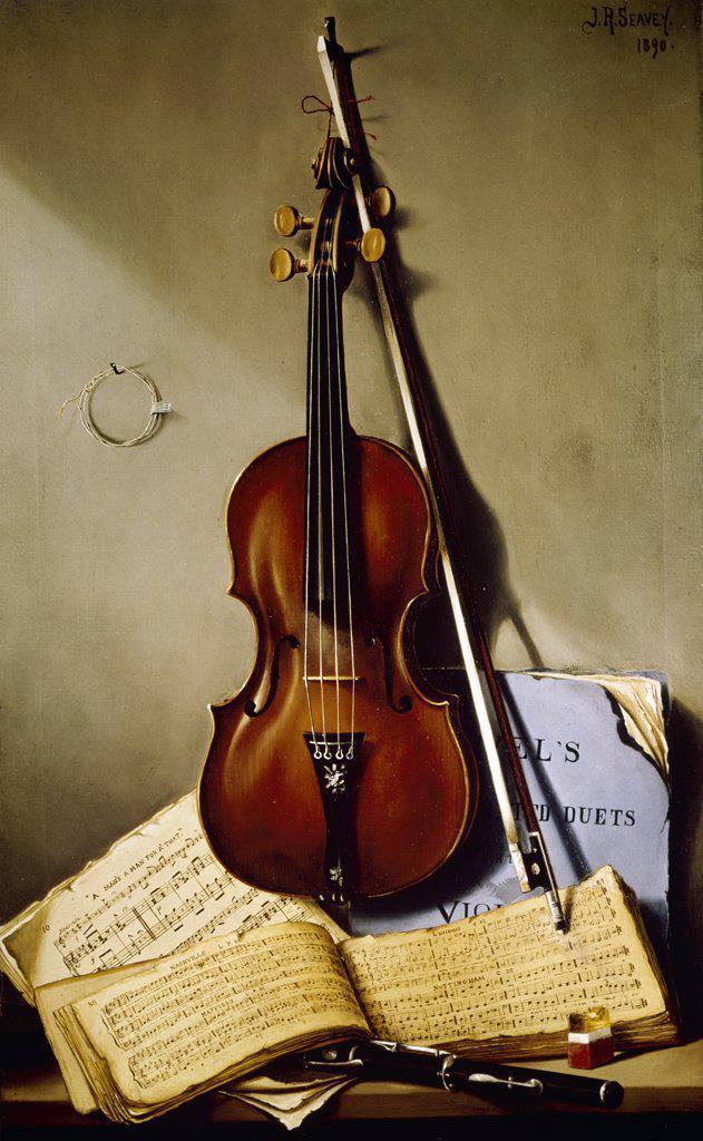 Music  Julian Ruggles Seavey (1857-1940/Canadian)      : Stock Photo